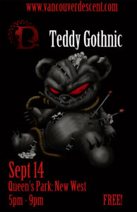 Descent Teddy Gothnic Gothic Picnic on September 14, 2017 @ Queen's Park