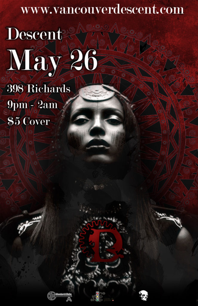 Descent Gothic May @ Vancouver Red Room on May 26, 2019