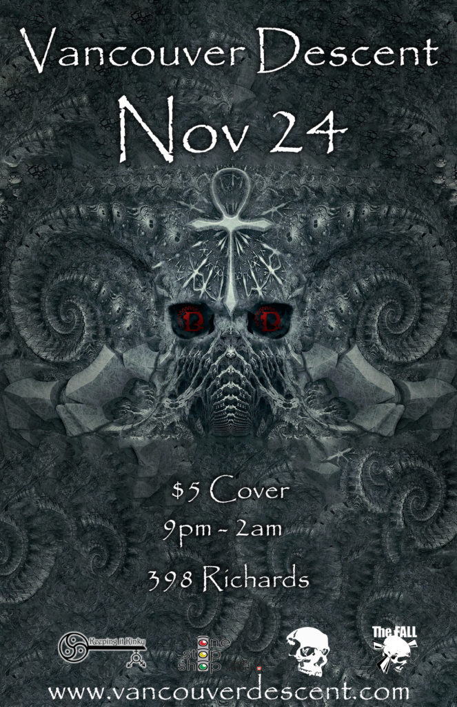 November 24 Gothic party @ Red Room Vancouver