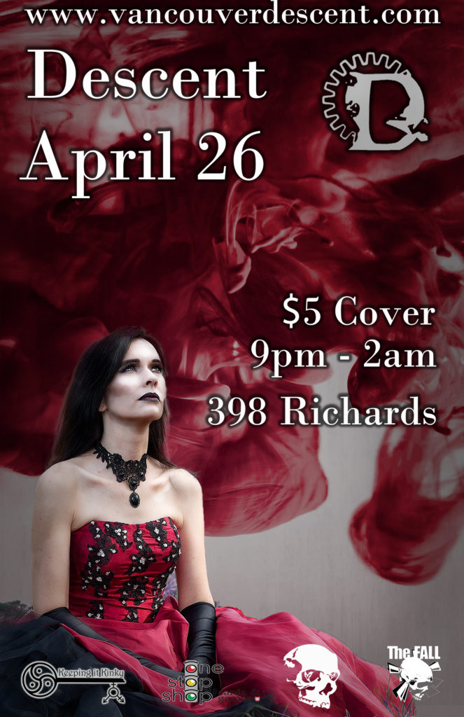 Descent Gothic party April 26, 2020 @ Red Room Vancouver